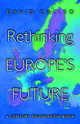 Rethinking Europe's Future   2001 (Revised) edition cover