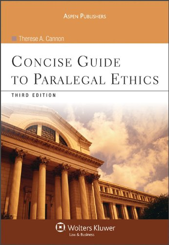Concise Guide to Paralegal Ethics, Third Edition  3rd 2010 (Revised) edition cover