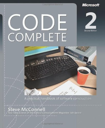 Code Complete  2nd 2004 (Revised) edition cover