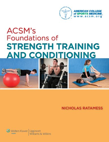 ACSM's Foundations of Strength Training and Conditioning   2012 edition cover