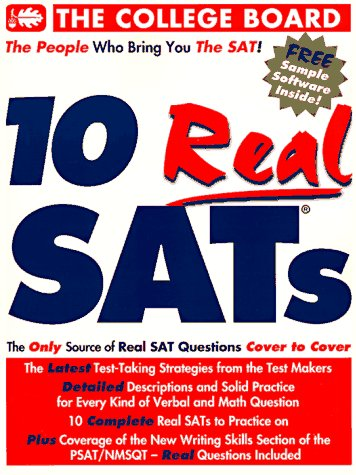 10 Real SATS  Revised edition cover