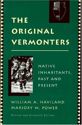 Original Vermonters Native Inhabitants, Past and Present Revised edition cover