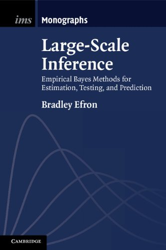 Large-Scale Inference Empirical Bayes Methods for Estimation, Testing, and Prediction  2012 9781107619678 Front Cover