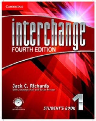 Interchange, Level 1  4th 2012 (Student Manual, Study Guide, etc.) edition cover