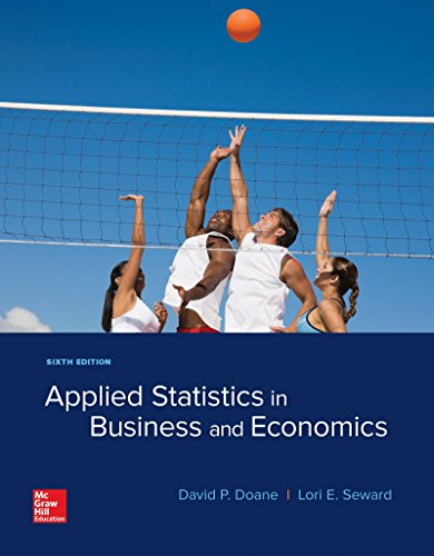 APPLIED STAT.IN BUS.+ECONOMICS (LOOSE)  N/A 9781260165678 Front Cover