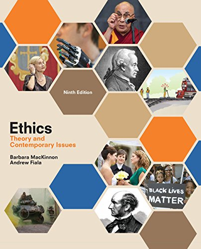 Ethics: Theory and Contemporary Issues  2017 9781305958678 Front Cover