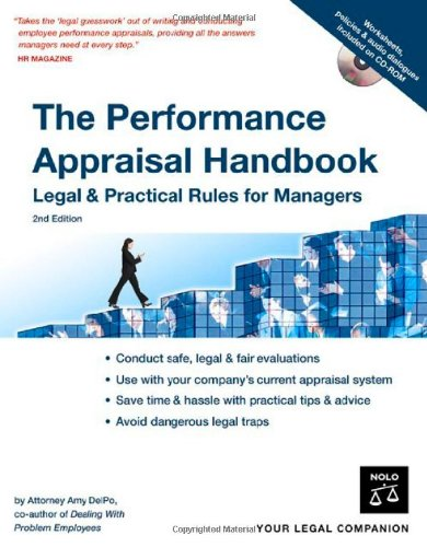 Performance Appraisal Handbook Legal and Practical Rules for Managers 2nd 2007 (Revised) edition cover
