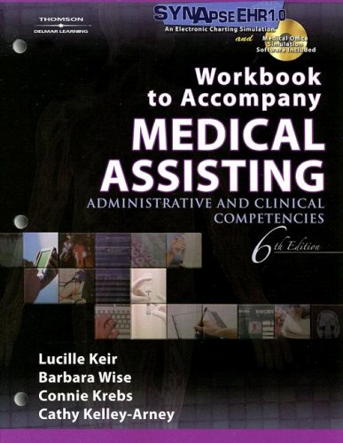 Medical Assisting Administrative and Clinical Competencies 6th 2008 edition cover