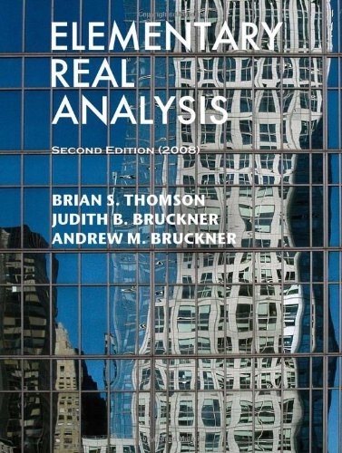 Elementary Real Analysis Second Edition (2008) N/A edition cover