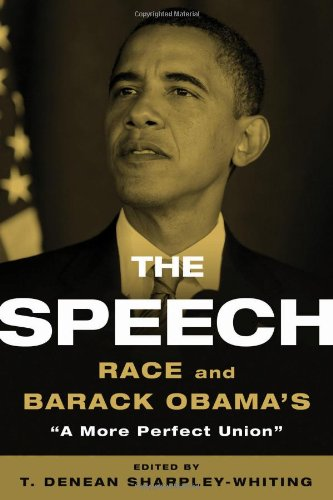 Speech Race and Barack Obama's a More Perfect Union  2009 edition cover