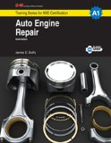 Auto Engine Repair Training for Ase Certification, A1 6th 2014 edition cover
