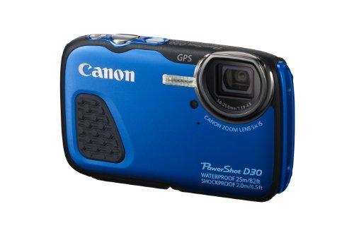 Canon PowerShot D30 Waterproof Digital Camera, Blue product image
