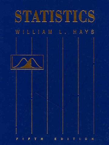 Statistics  5th 1994 (Revised) edition cover