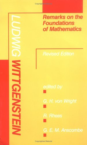 Remarks on the Foundations of Mathematics  2nd 1983 (Revised) 9780262730679 Front Cover