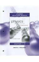 Student Solutions Manual for Physics for Scientists and Engineers A Strategic Approach Vol 1(Chs1-19) 3rd 2013 (Revised) edition cover