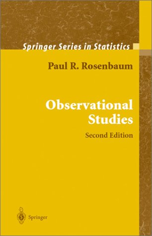 Observational Studies  2nd 2002 (Revised) edition cover