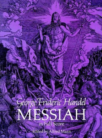 Messiah in Full Score  N/A 9780486260679 Front Cover