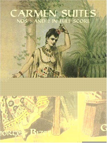 Carmen Suites Nos. 1 and 2 in Full Score  N/A edition cover