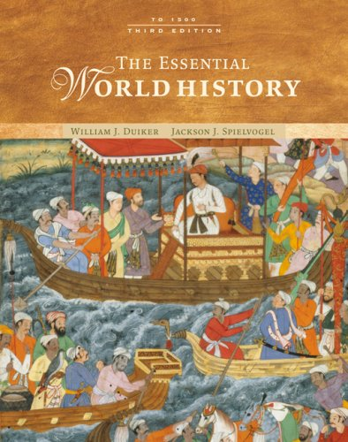 Essential World History To 1500 3rd 2007 (Revised) edition cover