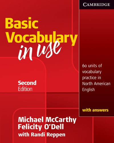 Vocabulary in Use Basic Student's Book with Answers  2nd 2010 (Student Manual, Study Guide, etc.) 9780521123679 Front Cover