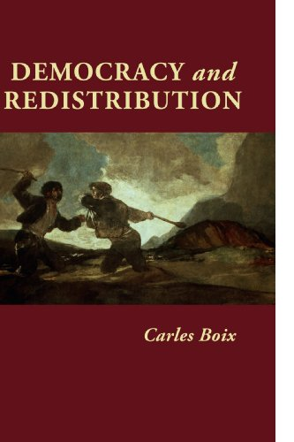 Democracy and Redistribution   2003 edition cover