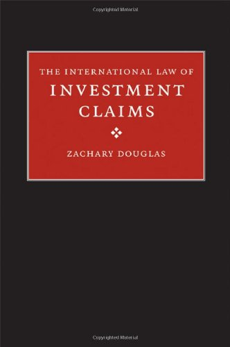 International Law of Investment Claims   2009 9780521855679 Front Cover