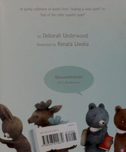Quiet Book   2010 edition cover