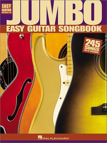 Jumbo Easy Guitar Songbook  N/A edition cover