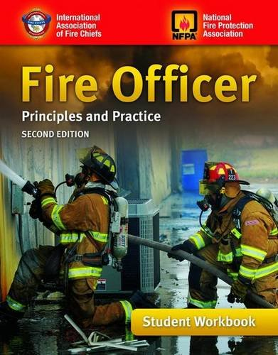 Fire Officer Principles and Practice 2nd 2011 edition cover
