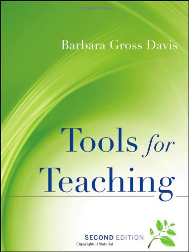 Tools for Teaching  2nd 2009 (Revised) 9780787965679 Front Cover