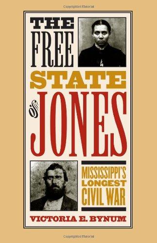 Free State of Jones Mississippi's Longest Civil War  2003 edition cover