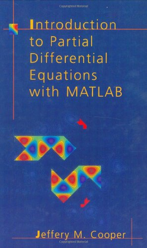 Introduction to Partial Differential Equations with MATLAB   1998 (Reprint) edition cover