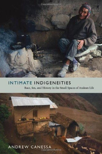 Intimate Indigeneities Race, Sex, and History in the Small Spaces of Andean Life  2012 edition cover