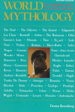 World Mythology  2nd 1994 (Revised) edition cover