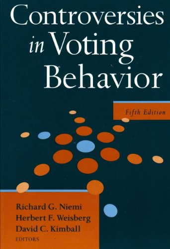Controversies in Voting Behavior  5th 2009 (Revised) edition cover