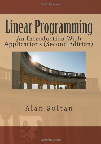 Linear Programming An Introduction with Applications (Second Edition)  2012 edition cover