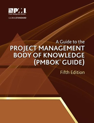 A Guide to the Project Management Body of Knowledge: Pmbok Guide  2013 edition cover
