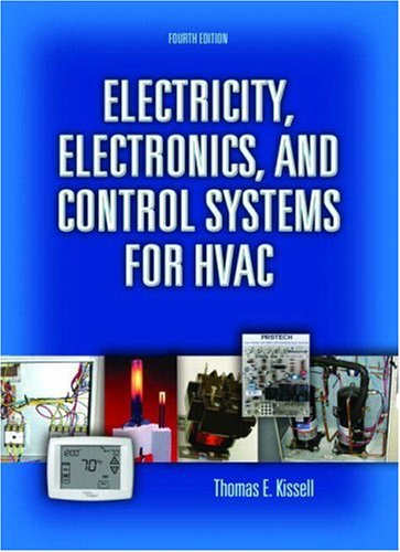 Electricity, Electronics, and Control Systems for HVAC  4th 2008 edition cover