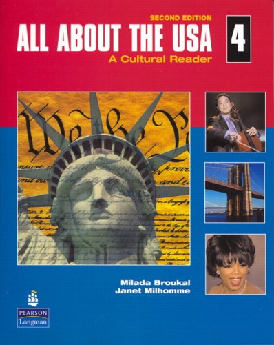All about the USA A Cultural Reader 2nd 2008 edition cover