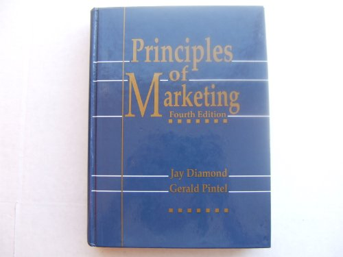 Principles of Marketing  4th 1991 edition cover