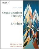 ORGANIZATION THEORY+DESIGN >CA N/A 9780176503680 Front Cover