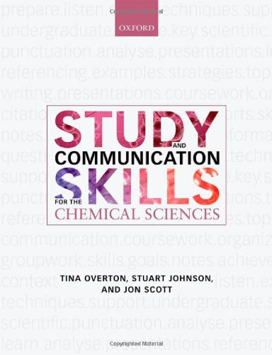 Study and Communication Skills for the Chemical Sciences   2010 9780199539680 Front Cover