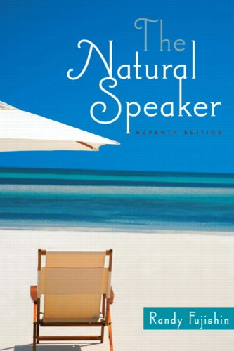 Natural Speaker  7th 2012 (Revised) edition cover