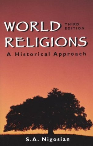 World Religions : A Historical Approach 3rd 2000 edition cover