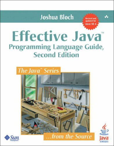 Effective Java  2nd 2008 9780321356680 Front Cover