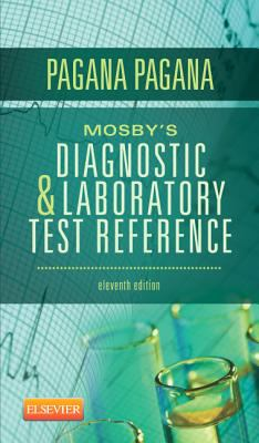 Mosby's Diagnostic and Laboratory Test Reference  11th 2012 edition cover