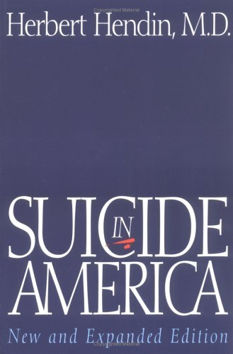 Suicide in America  2nd (Expanded) 9780393313680 Front Cover
