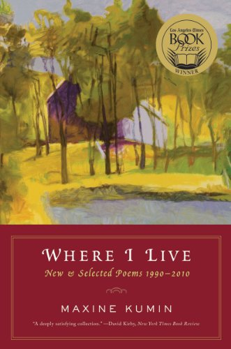 Where I Live New and Selected Poems, 1990-2010  2011 edition cover