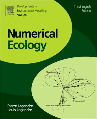 Numerical Ecology  3rd 2012 edition cover