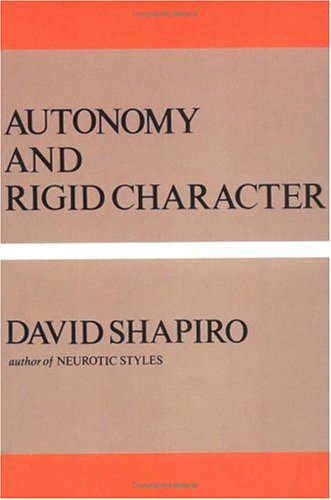 Autonomy and Rigid Character  N/A edition cover